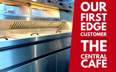 Our very first Edge Ranges customer – The Central Café!