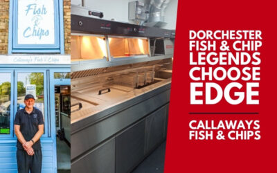 Dorchester Fish and Chip Legends Choose an Edge Frying Range!