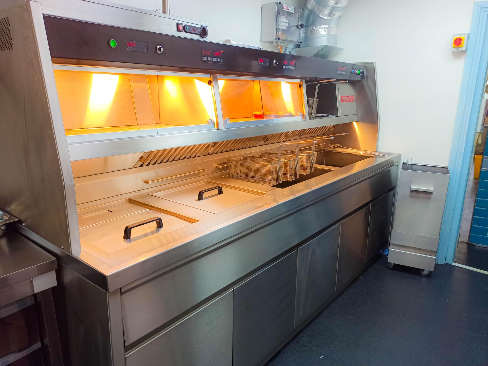 Edge Frying Range - Frying Equipment