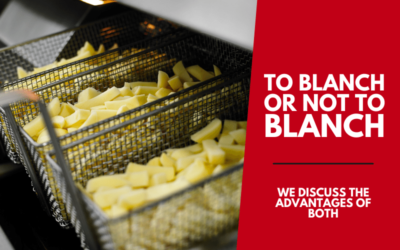 To blanch or not to blanch?